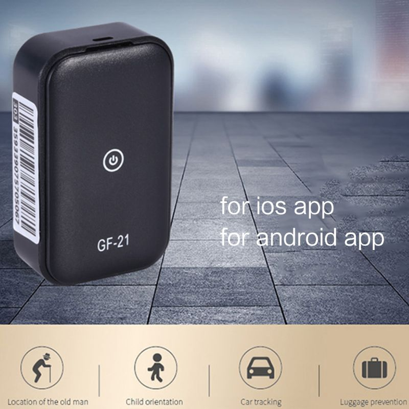 Image 2 - GF21 Mini GPS Real Time Car Tracker Anti Lost Device Voice Control Recording Locator High definition Microphone WIFI+LBS+GPS PosAnti-Lost Alarm   -
