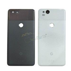 """Image 2 - Dla 6.0 """"Google Pixel 2 XL pokrywa baterii drzwi tylna obudowa tylna obudowa dla 5.0"""" Google Pixel 2 części zamienne do drzwi baterii"""