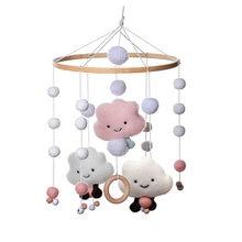 1 шт детские погремушки в кроватку мобильные игрушки хлопок
