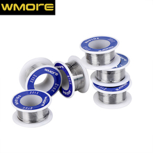 WMORE soldering Tin wire 3pcs/set with rosin 0.4/0.6/0.8/1.0/1.2/1.5MM solder wire 60/40 flux 2.0% lead Tin Wire Melt Rosin Core new tin lead rosin core solder wire 0 3mm 0 4mm 0 5mm 0 6mm 0 8mm 1 0mm 2