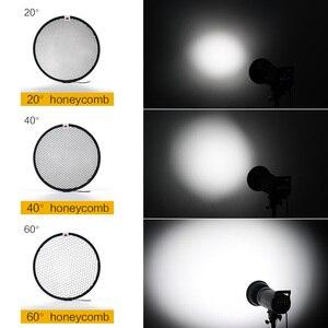 Image 3 - Standard Reflector Aluminum Honeycomb Grid 6.7 17cm 2/3/4/5/6/7mm for Bowens Standard Reflector Grid Photography Studio
