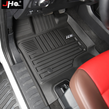 JHO Car Rubber Floor Mats For Ford F150 2014-2020 2019 2017 2016 2018 2015 Limited Raptor Platinum 4-door Crew Cab Accessories