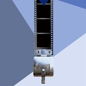 Image 4 - 2 adet Film hava kuru karanlık oda işleme ekipmanları 120 135 35mm negatif sayfa Film paslanmaz çelik klipler ile kurşun düz