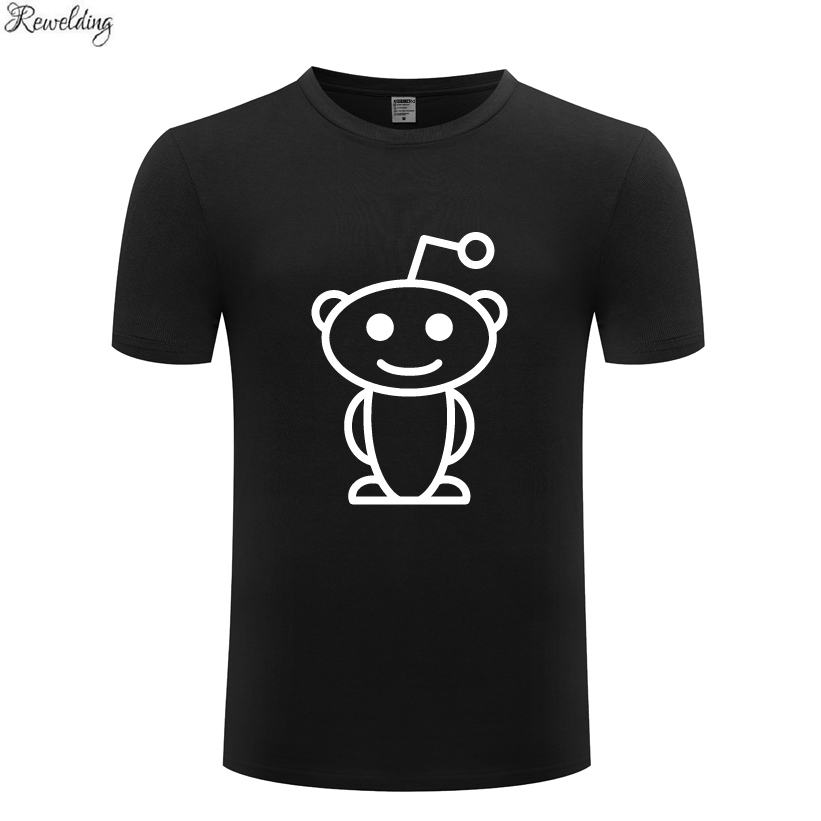 Cute Reddit Aliens Movie Mens Men T Shirt Tshirt Summer New Short Sleeve O Neck Cotton Casual T-shirt Top Tee image