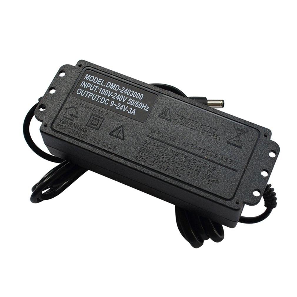 9 V-24 V 3A Регулируемый Мощность адаптер Светодиодный светильник полосы затемнения мотор Плавная Скорость регулирования термостат Питание