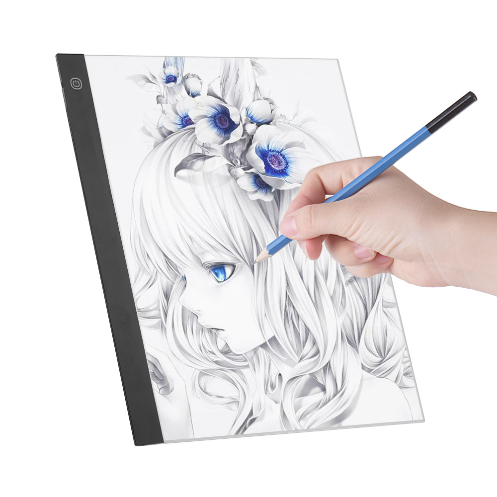 LED A3 Light Panel graphics tablet Light Pad Digital Copyboard with 3level Dimmable Brightness for Tracing drawing tablet