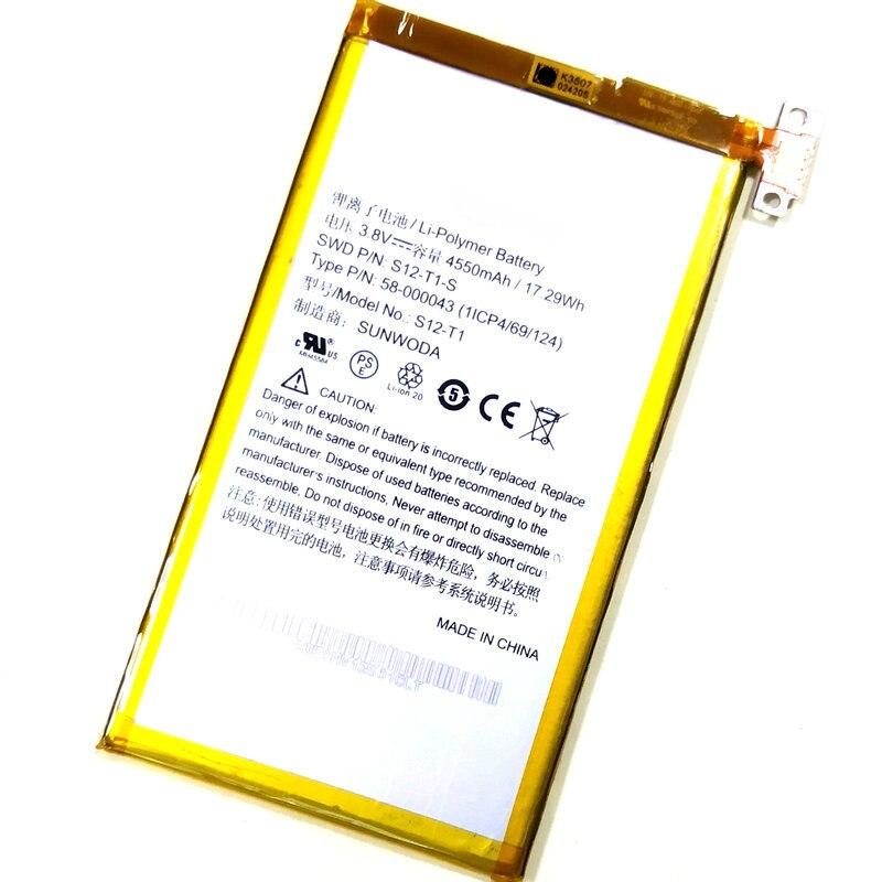 Westrock S12-T1 Type P/N:58-000043 S12-T1-S 4550mAh Battery For Amazon C9R6QM Kindle Fire HDX Kindle Fire HDX 7