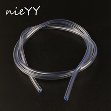1m PVC Transparent Hose Garden 3-18mm Pipe Irrigation Car Wash Flexible Connection For