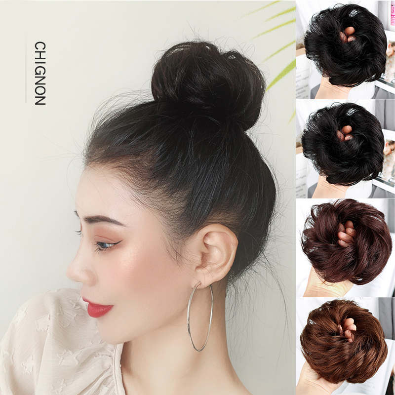Curly Hair Updo Tails Natural Fake Hairpieces Women Hairstyles Heat Resistant Synthetic Hair Pieces Hair For Women