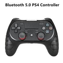 Playstation 4 Controller Draadloze Bluetooth 5.0 Gamepad Zeer Gevoelige Zes-As Detectie Systeem Touch Pad Joystick Controller