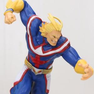 Image 5 - My Hero Academia Figure Toy Vol1. Smack Midoriya Izuku Shouto Todoroki Katsuki Boku no Hero Academia Model Figurals Toy 16cm
