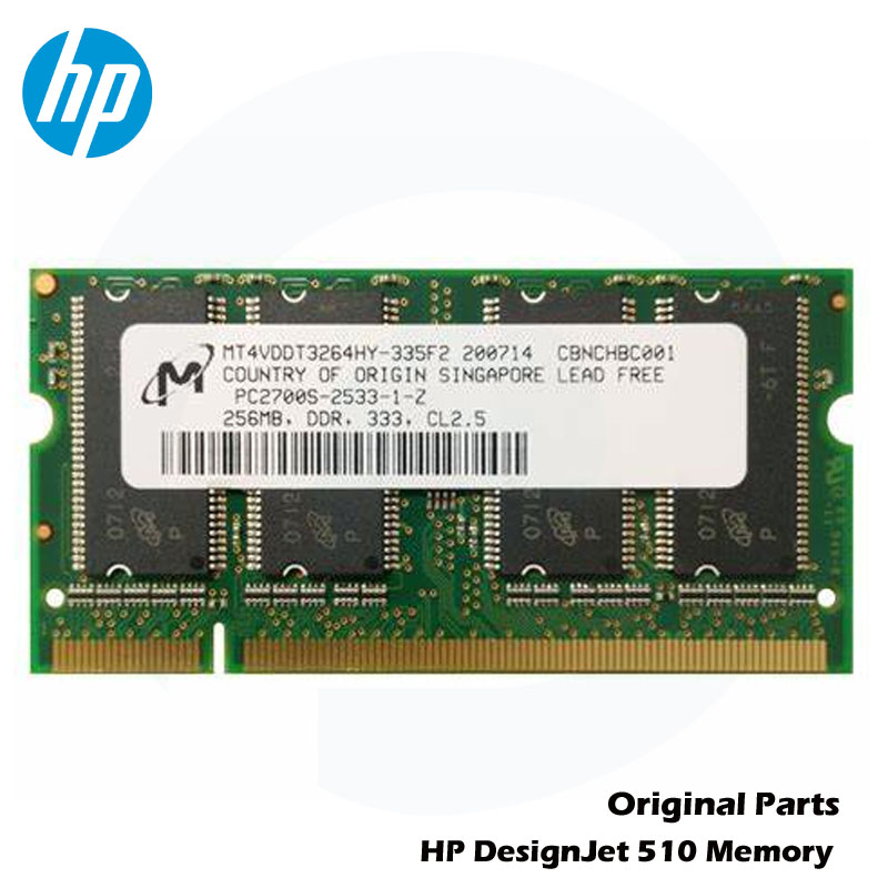 Original New For HP DesignJet 510 Seires 256MB DIMM memory module CH336-67011 CH654A