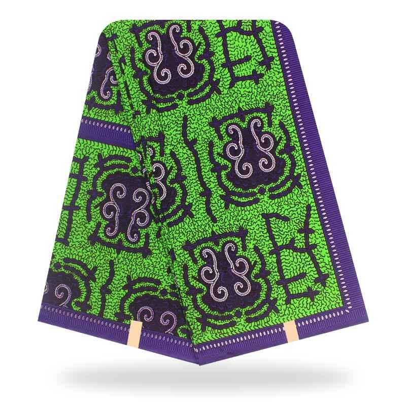 2020 Dashikiage Afrika Anakra Lilin Nyata Cetak Biru Katun Lembut Kain Nederlands Premium Lilin Kain Tissu A Coudre 6 Meter