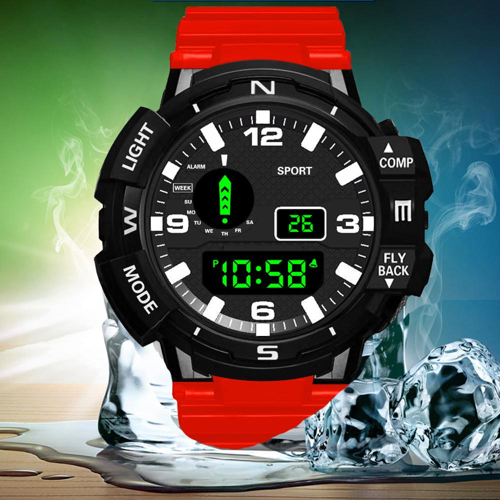 Clock Men Wrist-Watch Digital MD3 Army Military Sports Electronic Luxury Relogio New