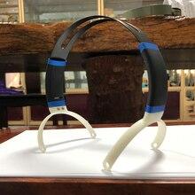 Substituição de metal headphone headband cabeça feixe 80mm 95mm diy sobre a orelha headset bandana