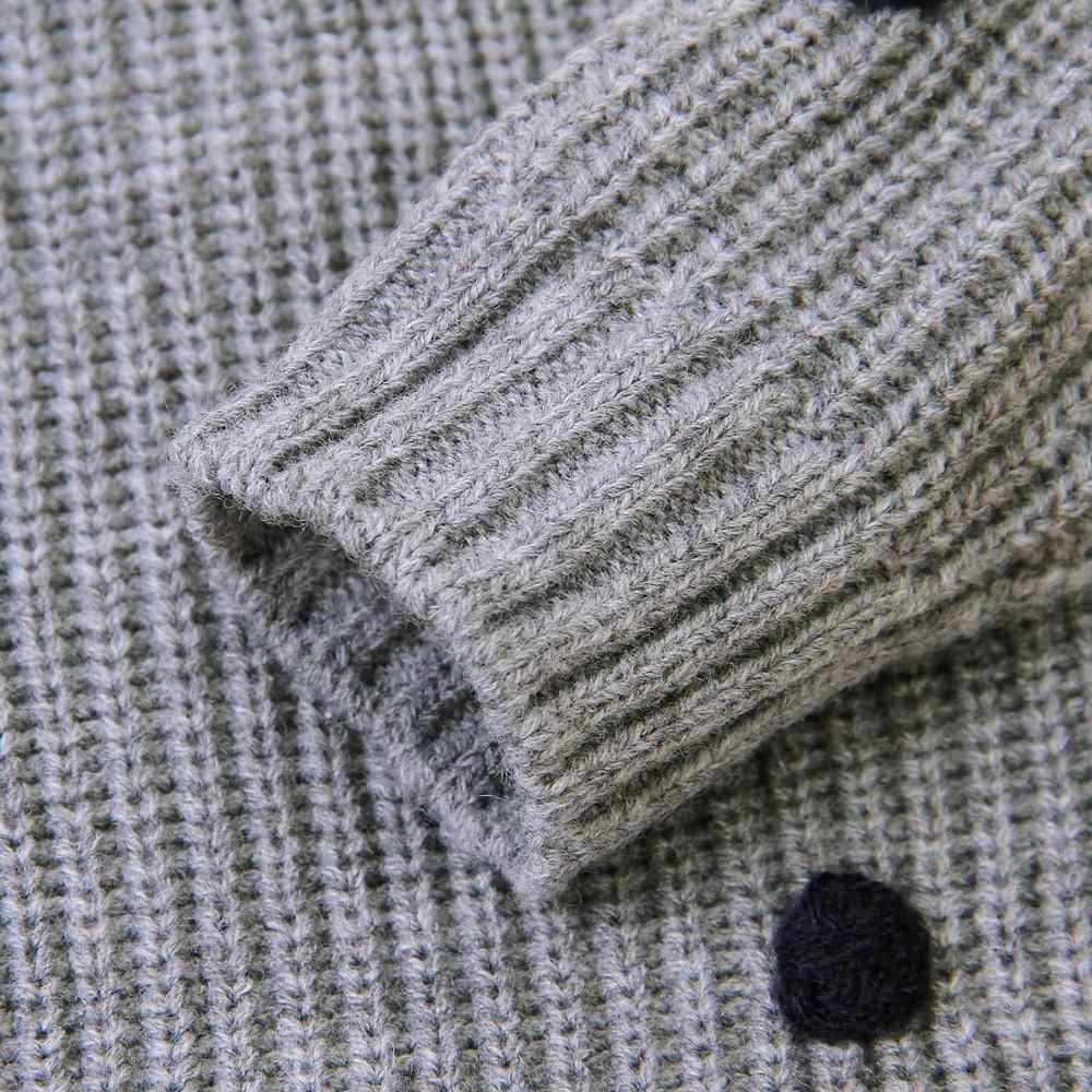 ベビーセーターのドットニットプルオーバージャンパー秋カジュアル新生児男の子ニット長袖子供服トップス