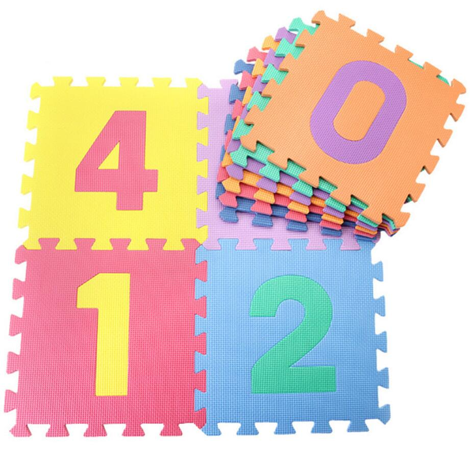 10PCS 30cm Foam Baby Play Mat Puzzle For Children Crawling Carpet Playing Mat Kids Children Playmat Toys