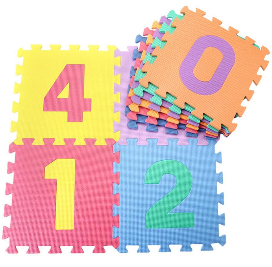 10PCS 30cm Foam Baby Play Mat Puzzle For Children Crawling Carpet Playing Mat Kids Children Playmat Toys