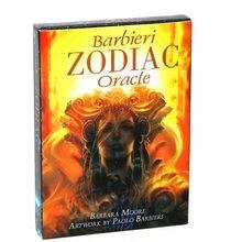 Kit de Tarô Oracle Cartões Cartões de Convés Do Zodíaco Astrologia Barbieri Conjunto Adivinhação Destino Baralho Jogo De Mesa Jogo de Cartas Jogos de Tabuleiro