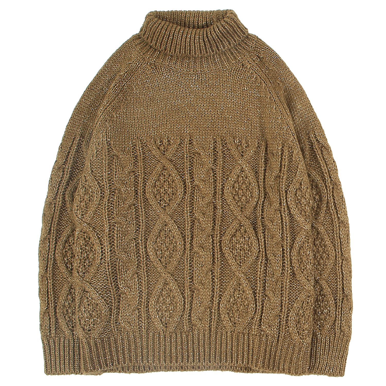 Men's Turtleneck Sweater Chunky Knitted Jumpers Warmth Pullover Casual Tops Classics For Young Boys Leisure Outdoor Solid Color