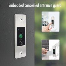 Access-Controller Waterproof Metal Embedded Rfid-Card Biometric Fingerprint Outdoor-Use