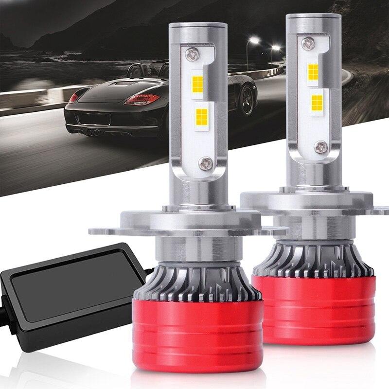 Новый стиль светодиодный фар автомобиля F5 Автомобильный светодиодный светильник раздел обновления Универсальный Автомобильный фар H4 9003 HB2