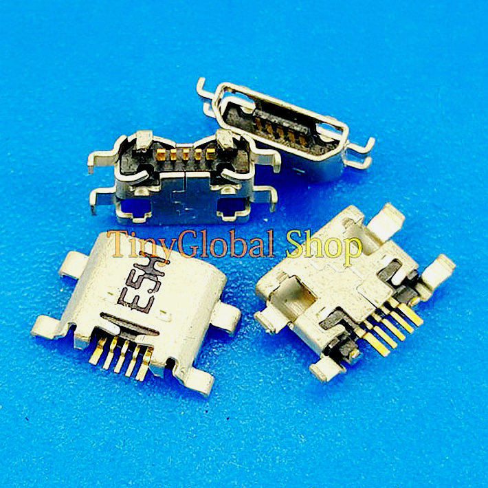 10pcs Coopart USB Charger Charging Connector Dock Port For Huawei Honor 7 7i 8 Huawei P7 P8 Lite(2017) Play 5C Maimang 6