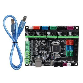 MKS GEN L V1.0 Controller Board 3D Printer Board Motherboard Mainboard Compatible Ramps&Marlin for 4988/DRV8825/TMC2100 Driver durable 3d printer motherboard gt2560 drv8825 driver lcd2004 kit 3d printer parts