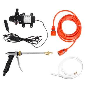 100 Вт 160PSI 12 в бытовой машинный моющий насос портативная электрическая мойка высокого давления Автомобильная прокладка для стиральной машин...