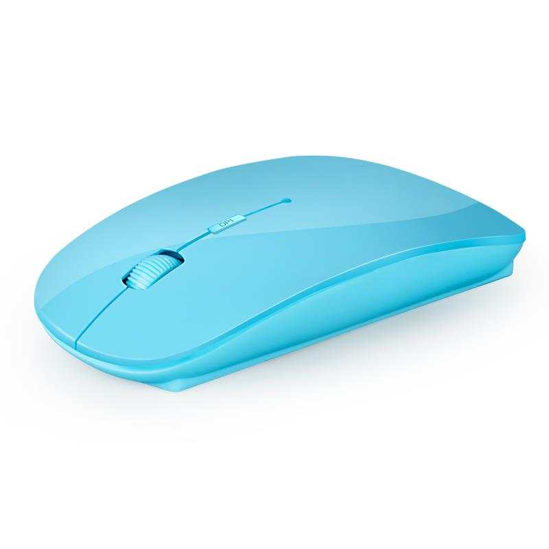 1600 DPI USB Optical Wireless Computer Mouse 2.4G Receiver Super Slim Mouse For PC Laptop 4