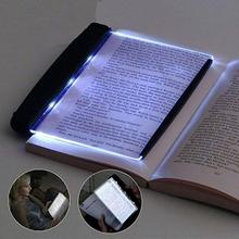 New Plate Lamp Creative LED Reading Book Light Eye Protect Battery Night Light School Reading Light stationery for student