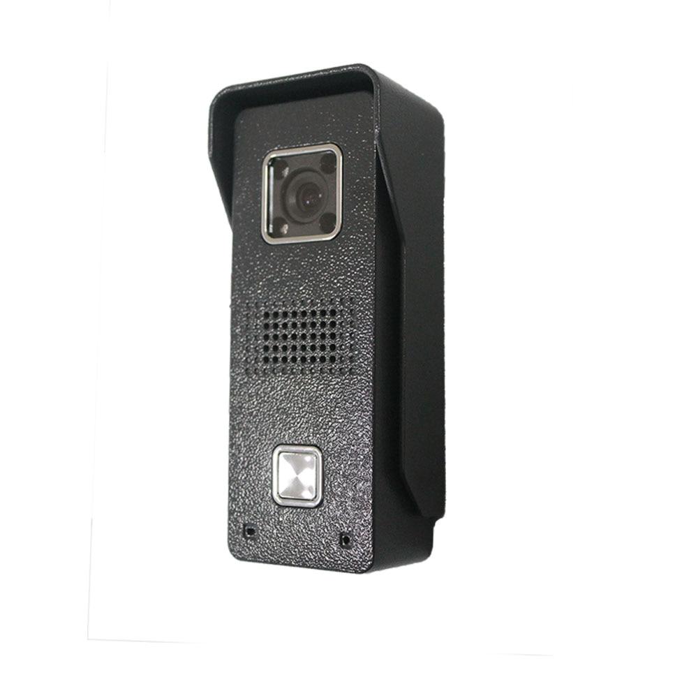 Купить с кэшбэком Fullvisual 7 inch Video Door Phone Video Doorbell Camera 1/2 Panel Home Intercom for Villa and Private House IR Day Night Vision