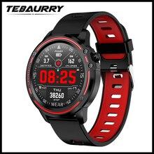 L8 ساعة ذكية الرجال IP68 مقاوم للماء Reloj Hombre وضع SmartWatch مع ECG PPG ضغط الدم معدل ضربات القلب الرياضة جهاز تعقب للياقة البدنية