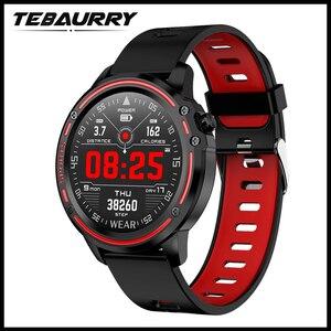 Image 1 - L8 ساعة ذكية الرجال IP68 مقاوم للماء Reloj Hombre وضع SmartWatch مع ECG PPG ضغط الدم معدل ضربات القلب الرياضة جهاز تعقب للياقة البدنية