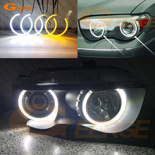 Ultra bright Dual Color Switchback led angel eyes drl turn signal For BMW E65 E66 PRE FACELIFT 745i 745Li 760Li 760i 2002-2005 front left trim bumper cover cap grille 51117056093 for bmw e65 e66 745i 745li 760li 2002 2003 2004 2005