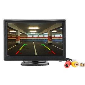 Image 2 - Auto Monitor 4.3 of 5 inch TFT LCD Rear View Camer IR Universele Spiegel Parkeerhulp voor Chevrolet: cruze/Epica/Aveo/Malibu