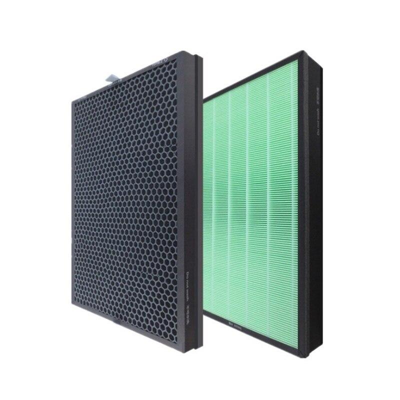 Купить с кэшбэком 2PCS/Set Fit for Xiaomi Mijia Air Purifier MAX Filter Remove Formaldehyde MP2.5 for Mijia Air Purifier MAX Filter
