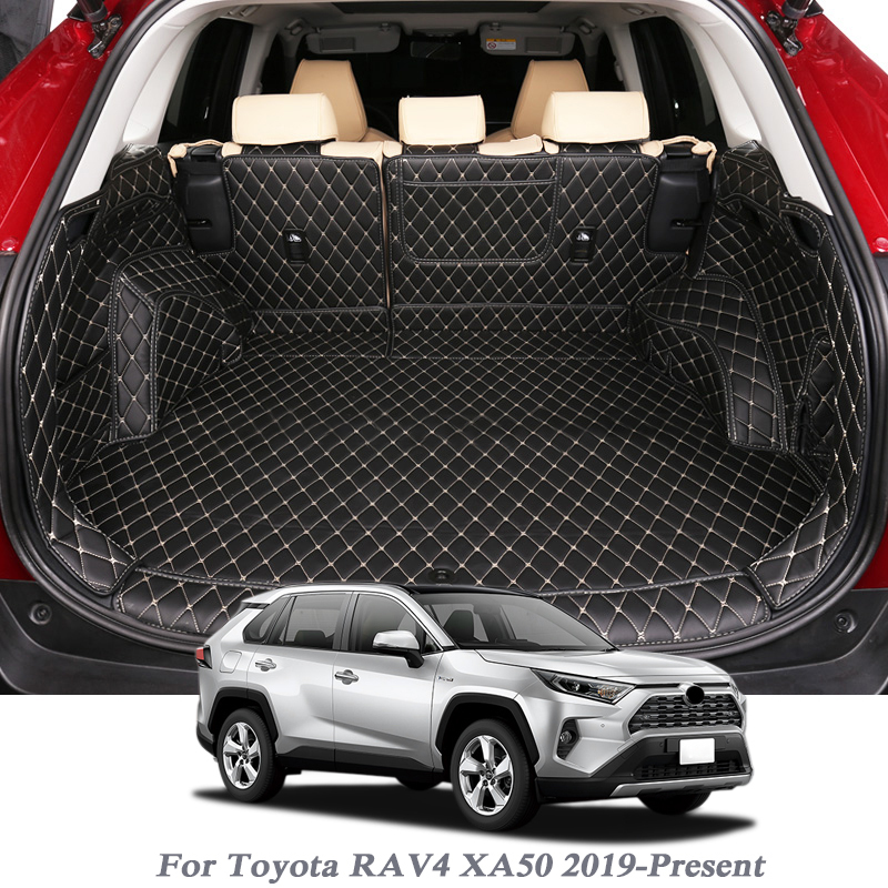 For Toyota RAV4 XA50 2019-Present Car Boot Mat Rear Trunk Liner Cargo Floor Carpet Tray Protector Accessories Mats