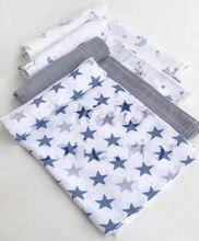 100% algodão musselina bebê swaddles cobertores recém-nascidos banho gaze envoltório infantil sleepsack capa do bebê deken