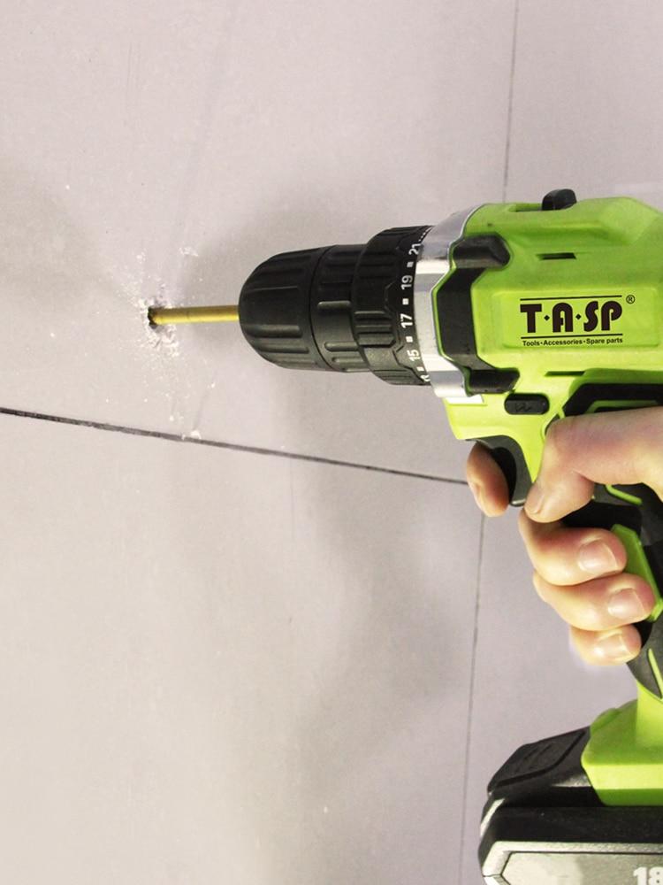 TASP Cutter Drill-Bit-Set Ceramic-Tile Wall-Mounts Glass Carbide-Tip 5pcs for