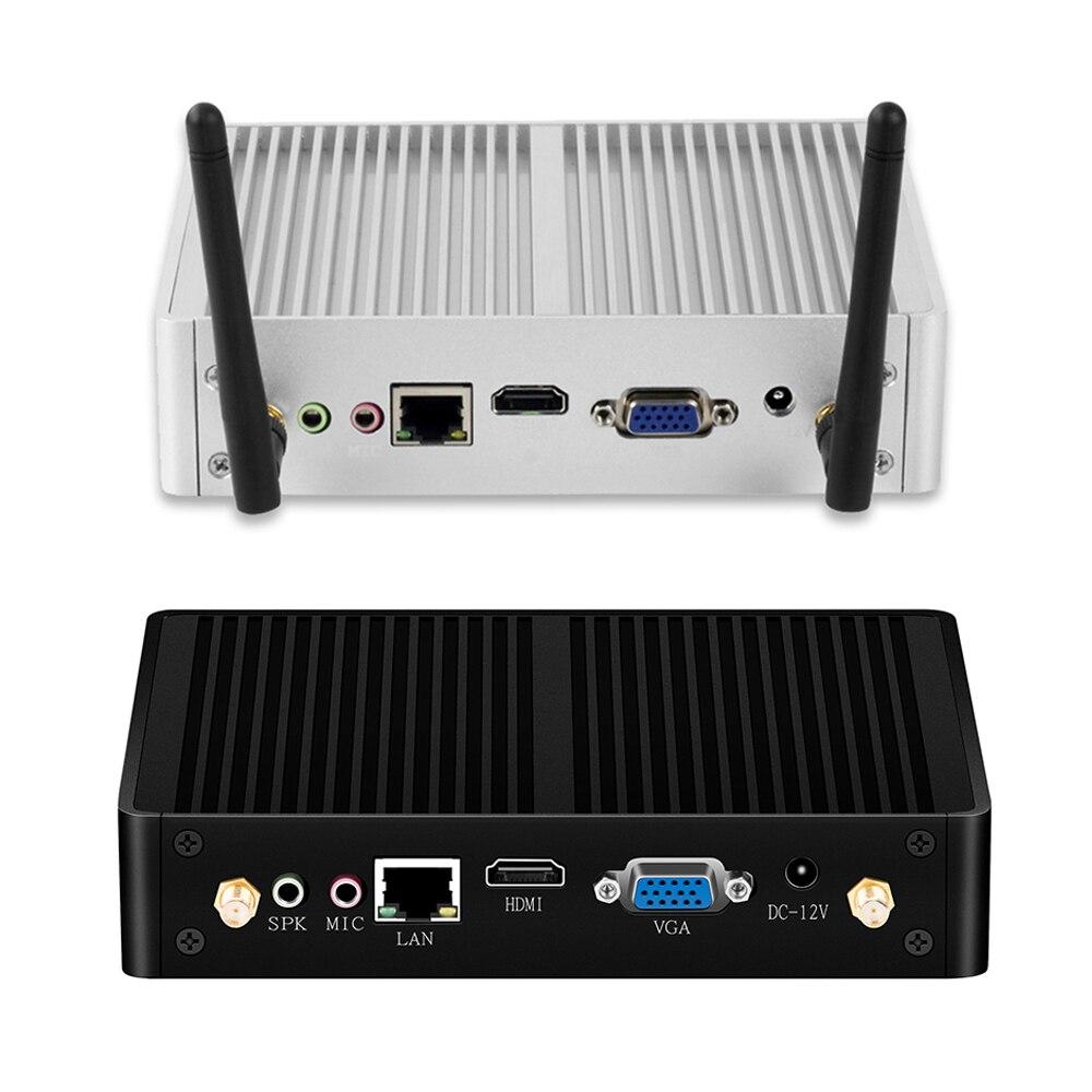 Xcy Fanless Mini Pc Windows 10 I7 4500u I3 7100u Desktop Computer Tv Box Intel Micro Ordenador Sobremesa Minipc Compute Stick