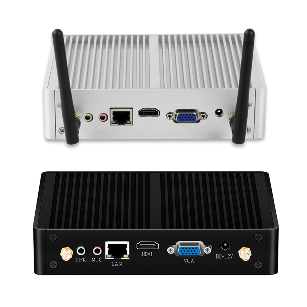 Xcy Fanless Mini Pc Windows 10 I7 4500u I3 7100u I5 Desktop Computer Tv Box Intel Micro Ordenador Sobremesa Minipc Compute Stick