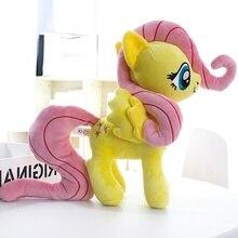 Единорог Флаттершай мягкие животные лошадь плюшевая Детская кукла игрушки отличный подарок
