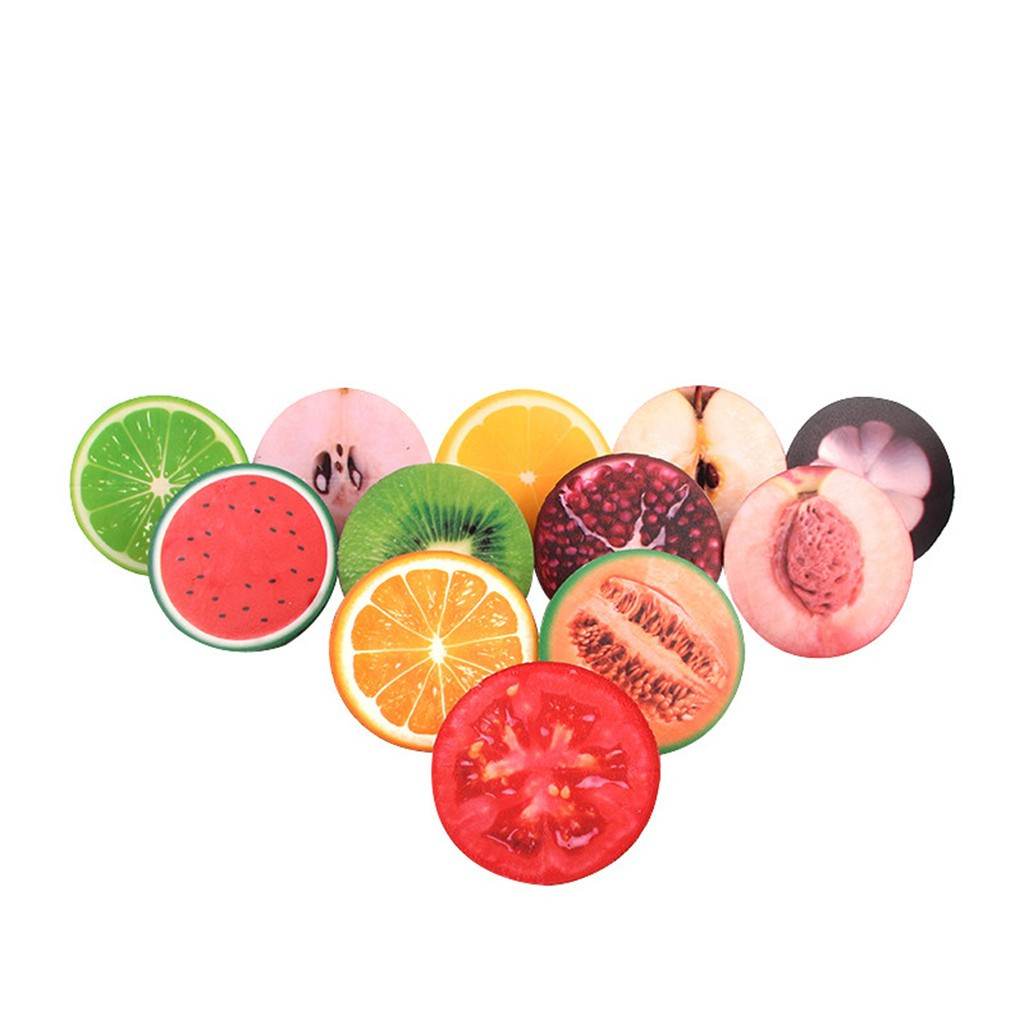 Simulation Small Fruits Stress Reliever Scented Slow Rising Toys Slow Rebound Decompression Girly Heart Pinch Fun #A