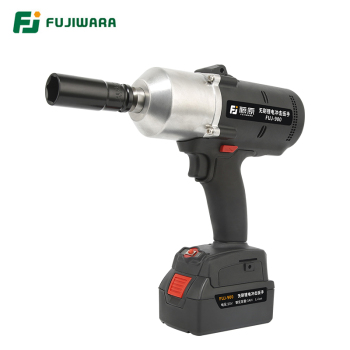 цена на FUJIWARA 900N.M 1/2  Electric Wrench 20V Lithium Battery Rechargeable High Torque Brushless Cordless Impact Wrench