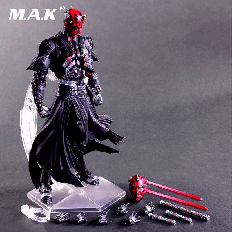 Star Wars: The Force Awakens Darth Maul 26cm Anime Figure Doll Collections Children Toys Gift 13