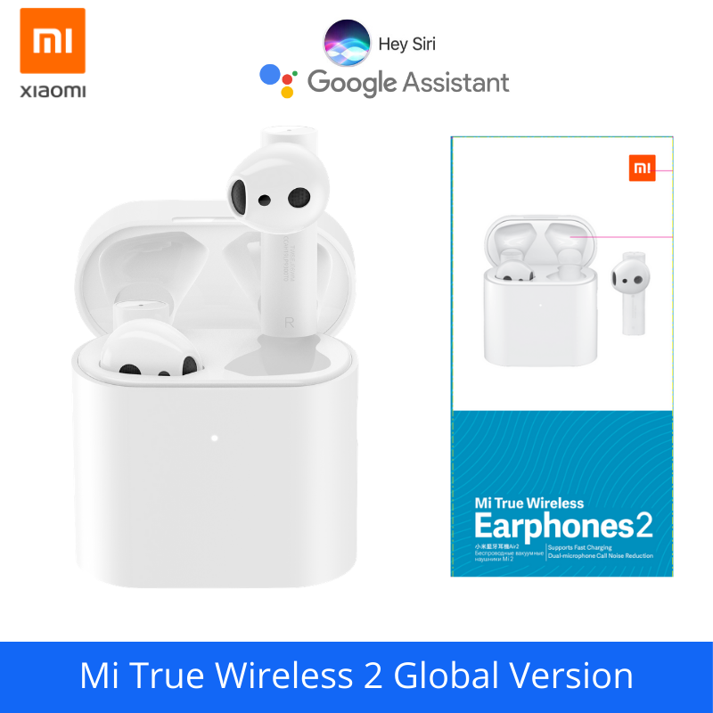New Xiaomi Airdots Pro 2 Air 2 Mi True Wireless Earphones 2 Tws Bluetooth 5 0 14h Battery Life Enc Lhdc Tap Control Dual Mic Bluetooth Earphones Headphones Aliexpress