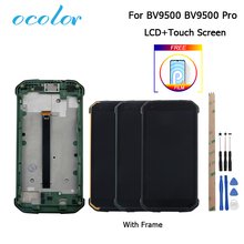 For Blackview BV9500 Bv9500 Plus LCD Display and Touch Screen With Frame Replacement +Tools +Film For Blackview BV9500 Pro 5.7