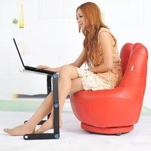 Стол для ноутбука из алюминиевого сплава, складной портативный стол для ноутбука, стол для ноутбука, стол, подставка, кровать, диван, стол, лоток, держатель для книг