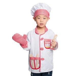 Disfraz de cocinero para niños y niñas de umarden, juego de casa para juego de rol para niños, juego educativo para fiesta de Halloween